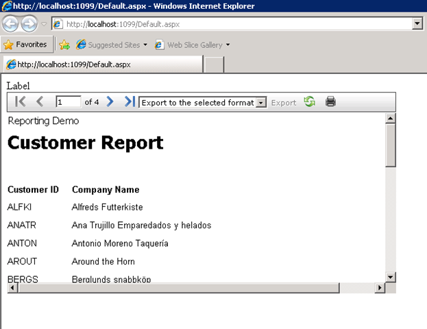 telerik reporting report book programmatically Partial class reporttelerik { #region component designer generated code ///  /// required method for telerik reporting designer support - do not modify /// the contents of this method with the code editor.